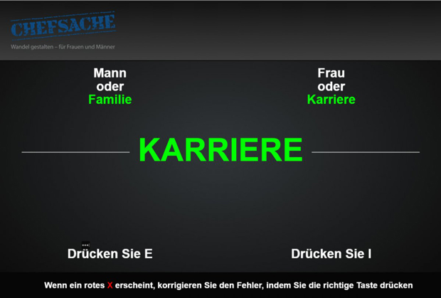 Screenshot Chefsache-Test