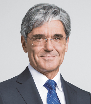 Joe Kaeser CEO of Siemens