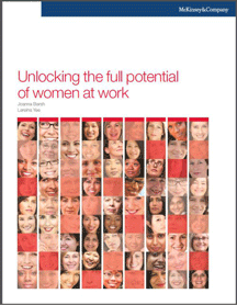 McKinsey & Company: Unlocking the full potential of women at work (2012)