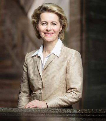 Ursula von der Leyen, German Minister of Defence