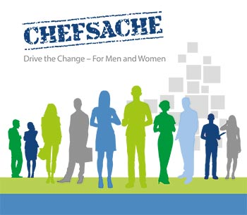 Cover of the Initiative Chefsache Brochure
